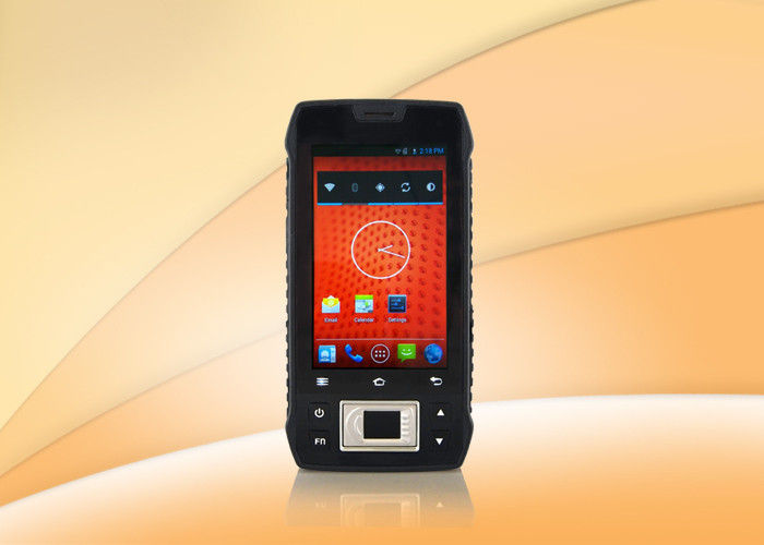 Android Portable Mobile Fingerprint Scanner With 4.3 Inch Touch Screen