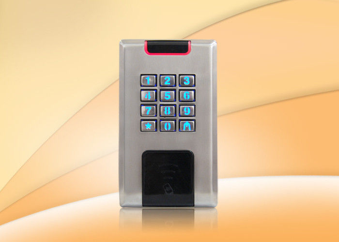 Reading Distance 3 - 5cm Rfid Access Control System With Metal Key Buttons
