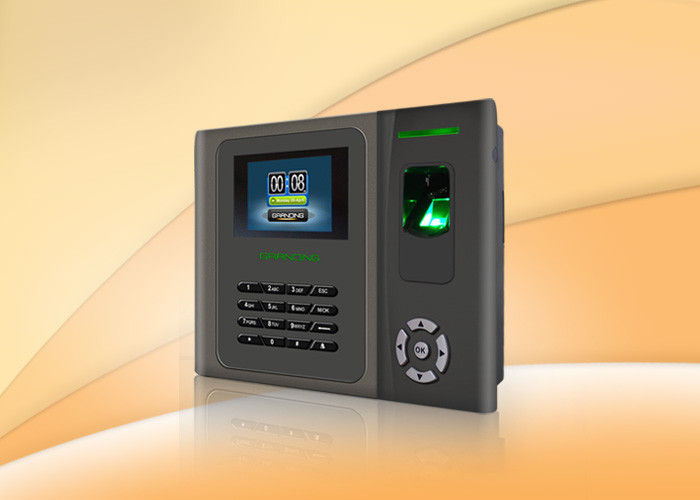 High Speed Wifi Fingerprint Time Clock / Biometric Attendance Machine With Li Battery