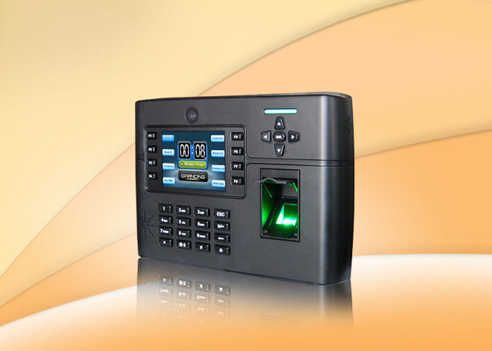 Big Capacity Fingerprint Access Control System Terminal Built In Li Battery