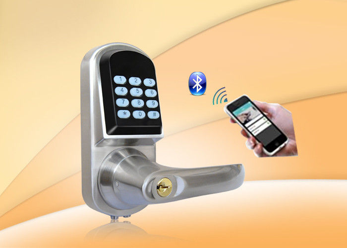 Remote Control Password Safe Door Lock With Password Keypad / Key Unlock
