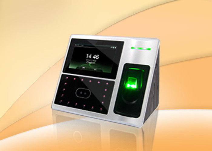 Wiegand Biometric fingerprint access control system with facial recognition security for office
