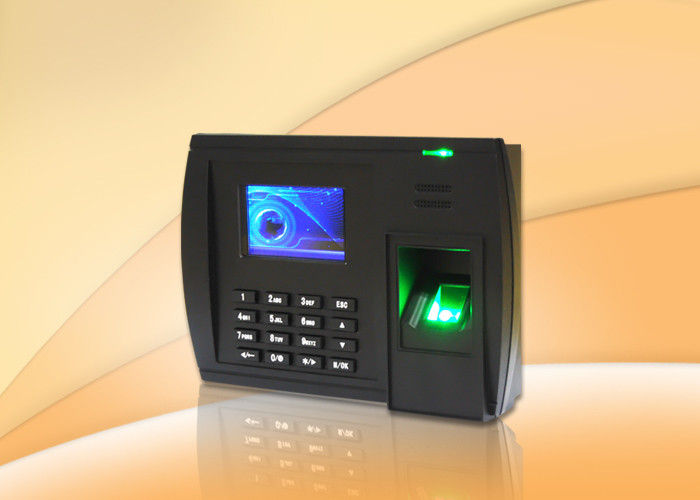 Support Password Fingerprint Time Attendance System With 3000 Fingerprint Capacity