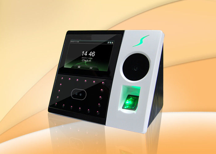 Palm Recognition And Facial Multi - Biometric Time Attendance System CE FCC Listed
