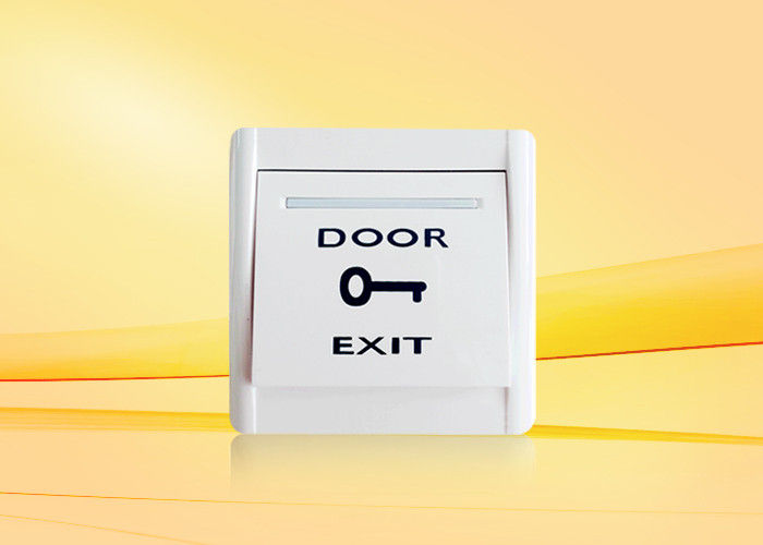 Plastic Fireproof Material exit gate push button , door release push button