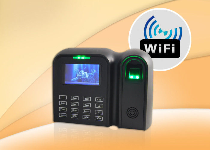 Color Screen Biometric Fingerprint Time Attendance With Touch Keypad