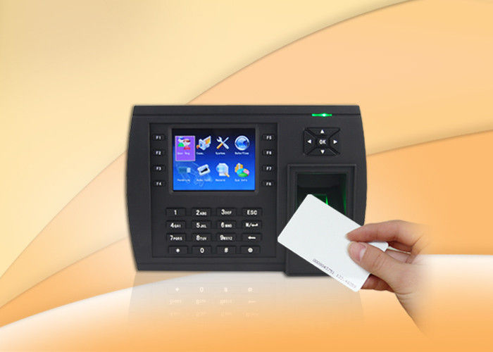 RFID card reader Biometric Time Clock / Fingerprint Scanner Time Attendance with USB