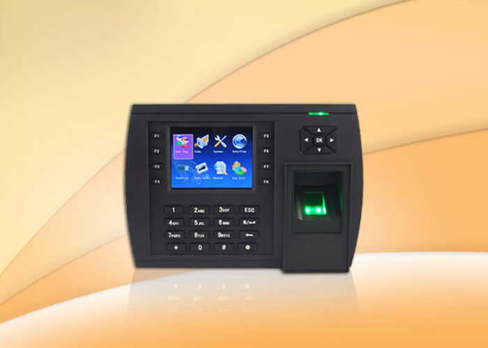 Multi Language Fingerprint Time Attendance System Support Photos Display