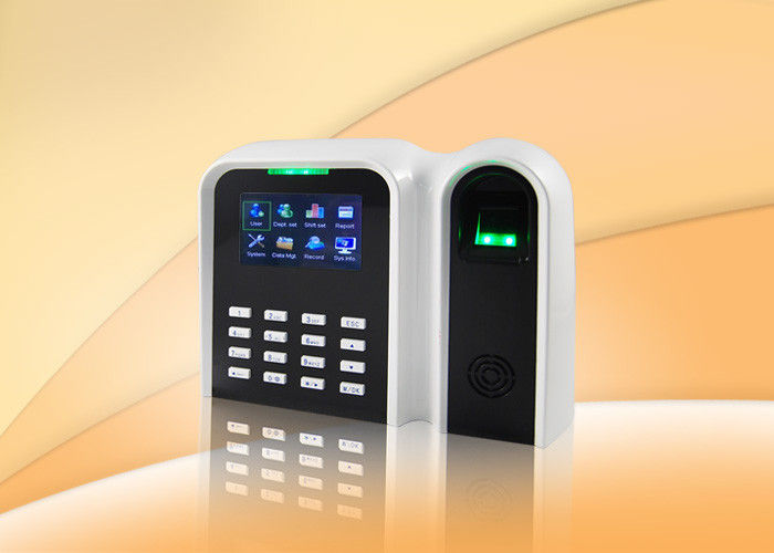 Standalone Fingerprint Time Attendance Terminal Support Rfid Cards With 2.8 Inch TFT Color Display