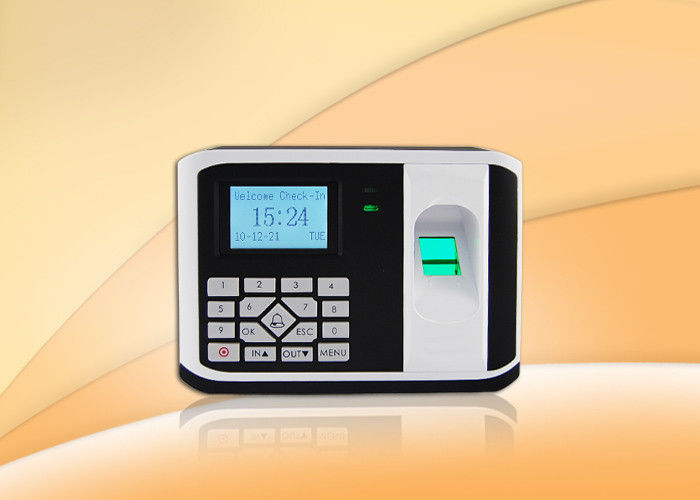 Linux  TCP / IP Fingerprint Access Control System With Wired Door Bell Connection , metal keypad