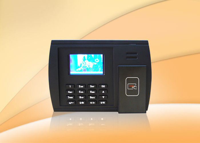 3 inch Punch Card Rfid Time Attendance Machine with RFID reader