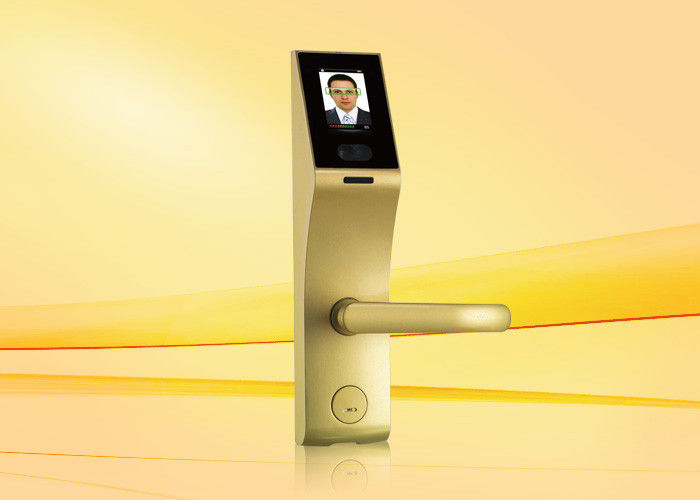 Residential USB Smart fingerprint keyless entry door locks With Embedded Face Recognition