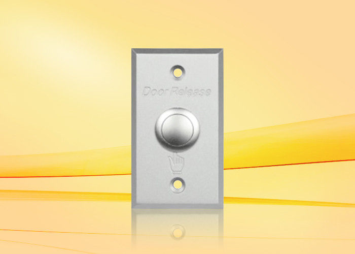 Aluminium Alloy Panel , push to exit buttons for access control system with CE / FCC