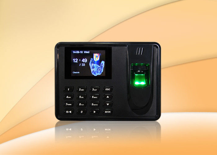 Thumbprint time attendance system biometrics security with