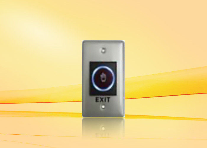 US Standard Infrared Door Push Button For Access Control , Release Button