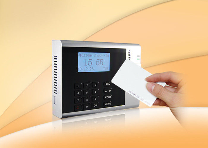 Built-in USB Ports TCP/IP Electronic Punching Cards Time Recorder attendance clocking system