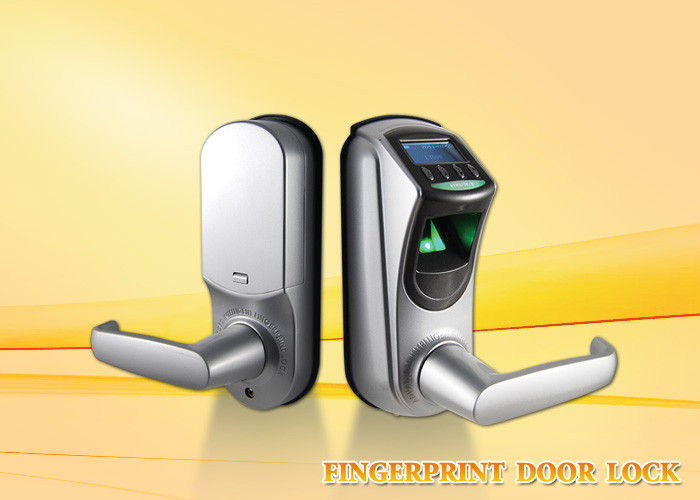 Multi Language Fingerprint Door Lock Support Password Lenth 6-10 Digit