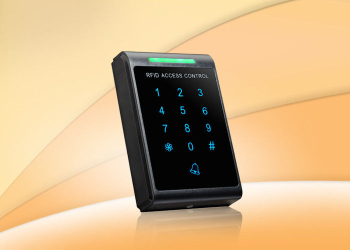 Standalone Rfid Access Control Reader With Touch Keypad For One Door Access Control