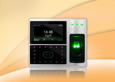 Multi Biometric Facial Recognition Access Control System with Time Attendance Fa1
