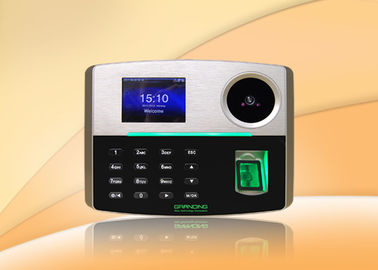 Palm Recognition Fingeprint Time Attendance System With Battery