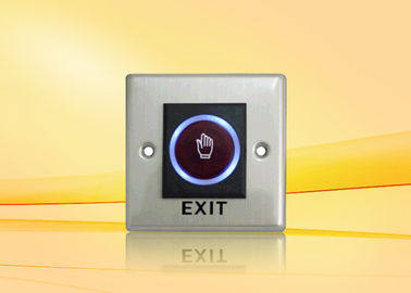 Waterproof Push button exit switch For Access Control With Hand - Shaped Symbol